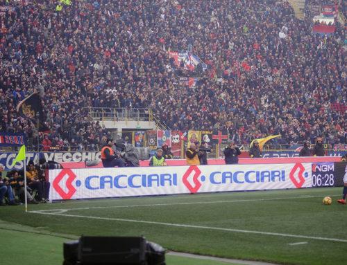 Cacciari Impianti partner di Bologna Calcio